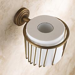 WC-Rollenhalter Kupfer, antik Wandmontage 160*95mm(6.29*3.74inch) Messing Antik