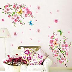 Umwelt Pfirsich blossums geformte Wandaufkleber