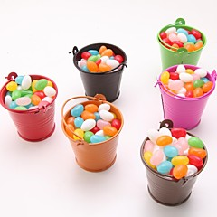12 Piece/Set Favor Holder - Cylinder Favor Tins and Pails Non-personalised