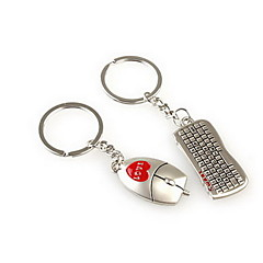 rato keybord casamento romântico chaveiro porta-chaves para o dia dos namorados amante (um par)
