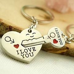 romantiske bryllup nøglering nøglering til elsker Valentinsdag (et par)