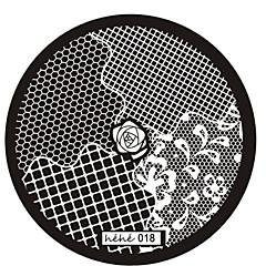 Abstract - Vinger/Teen/Andere Metaal - 1 - stuks 6x6 - ( cm )