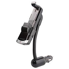 ブルートゥースハンズフリーカーキット、ブルートゥース4.0 / FMトランスミッタ/車の充電器/携帯電話ホルダー