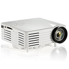 ViviBright® GP7S LCD ミニプロジェクター HVGA (480x320) 120 Lumens LED 4:3/16:9