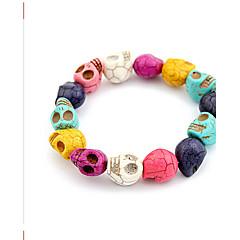 Lucky Star Women's Fashion Colorful Skull Bracelet