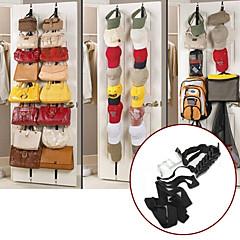 16 op ned dør kroge væg bøjle plads saver håndtasker tasker tøj hat soveværelse