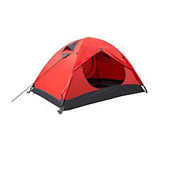 אוהל - עמיד למים/נשימה/ייבוש מהיר ( ירוק/אדום/כחול , 2 אנשים )
