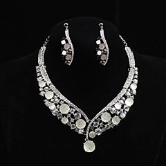Women's Cubic Zirconia/Alloy/ Wedding/Party Jewelry Set