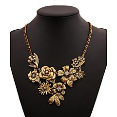Women's Statement Necklaces Single Strand Alloy Basic Jewelry 147 Wedding Anniversary Dailywear Business Casual