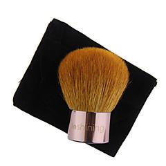 lashining профессиональный большой порошок кабуки кисть для лица красота инструмент макияжа дар один черный байковые