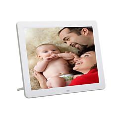 écran 12inch HD 800 * 600 super slim cadre photo numérique en pleine fonction pour la photo / musique / vidéo