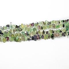 """beadia fluorit kő gyöngyök 5-8mm szabálytalan alakú DIY kiszóródott fit nyaklánc karkötő ékszerek 34 """"/ str"""