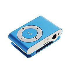 sanshuai® mini csipesz fém usb mp3 zene médialejátszó