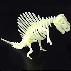 Legpuzzels 3D-puzzels Bouw blokken DIY Toys Dinosaurus ABS Kristal Modelbouw & constructiespeelgoed