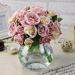 """1 Ág Selyem / Műanyag Bazsarózsák Asztali virág Művirágok (5.9""""X 10.23"""")"""