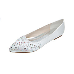 Women's Shoes Silk Flat Heel Pointed Toe Flats Wedding/Party & Evening More Colors available