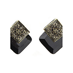 Palace of Carve Patterns Designs Woodwork Earrings
