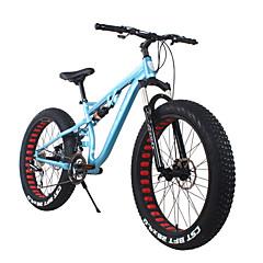 Geländerad Radsport 24 Geschwindigkeit 26 Zoll/700CC 40mm Herren SHIMANO 65-8 Doppelte Scheibenbremsen FedergabelHintere Federung