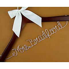 כלה / חתן / שושבינה / שושבין חתן / נערת פרחים / זוג / הורים מתנות-1 חתיכה / סט מתנה יצירתית חתונה / ברכות / תודה סגסוגת אלומיניום / עץ