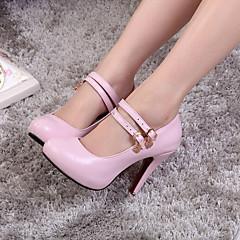 Women's Shoes  Stiletto Heel Heels Pumps/Heels Wedding/Party & Evening/Dress Black/Blue/Pink/White