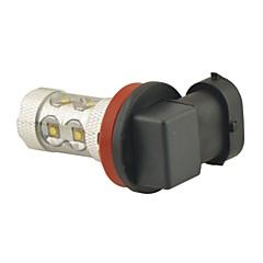 carking ™ H8 / H11 50waty 10smd 2800 ml 6000K bílé světlo LED mlhové světlo čelovka hnací žárovka (DC 12V)