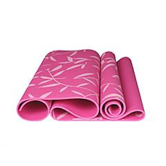 Tapis de Yoga ( Rose/Bleu/Vert , PVC ) 6