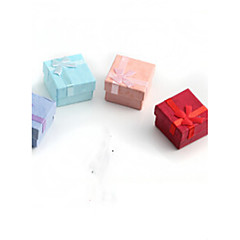 4*4*2.5CM Ring /Earrings/ Jewelry Boxes 1pc
