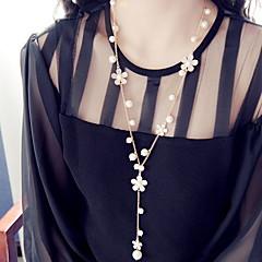 Femme Colliers Déclaration Alliage Mode Écran couleur Bijoux Pour Occasion spéciale Anniversaire