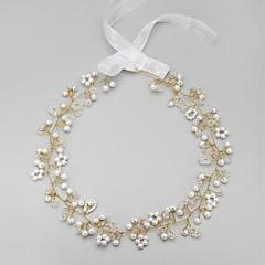 Ženy Malé družičky Slitina Imitace perly Přílba-Svatba Zvláštní příležitost Čelenky Jeden díl