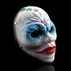 payday 2 ženska razbojnici klaun smola maska za Posvetiti kostim stranke (1 kom)