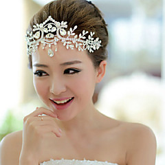 Bride's Crystal Rhinestone Forehead Wedding Headdress 1 PC