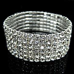 Bracelete Casamento bijuterias Imitações de Diamante Jóias Para Casamento Presentes de Natal