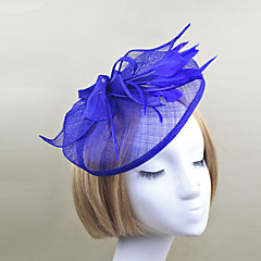 נשים נוצה רשת כיסוי ראש-חתונה אירוע מיוחד קישוטי שיער פרחים חלק 1
