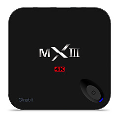 MX III Amlogic S812 Android TV Box,RAM 1GB ROM 8GB Quad Core WiFi 802.11n Não