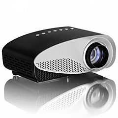ЖК экран HVGA (480x320) Проектор,LED 120lm Мини Портативные HD Проектор