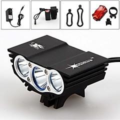 Eclairage de bicyclette - Camping/Randonnée/Spéléologie/Plongée/Plaisance/Cyclisme/Voyage/Multifonction/Escalade ( Rechargeable ) LED 3