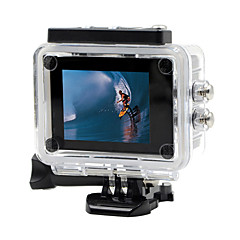 SDV-505 Sports Action Camera 12MP 1920 x 1080 WiFi / Waterproof / All in One / Panorama / Wide Angle 2 CMOS 32 GB H.264 30 MFilm and