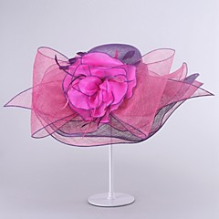 נשים פשתן כיסוי ראש-חתונה אירוע מיוחד כובעים חלק 1