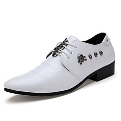 Men's Shoes Wedding / Office & Career / Party & Evening / Casual Skull Style Leatherette Oxfords Black / White