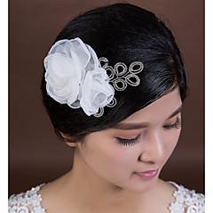 Femme Cristal / Tulle Casque-Mariage / Occasion spéciale Fleurs 1 Pièce
