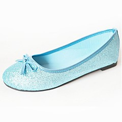 Girls' Shoes Wedding/Dress/Casual Comfort/Ballerina/Round Toe/Closed Toe Glitter Flats Blue