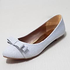 플랫 - 웨딩 / 야외 / 드레스 / 캐쥬얼 / 파티/이브닝 - 여성의 신발 - 발레리나 - 글리터 - 플랫 - 실버