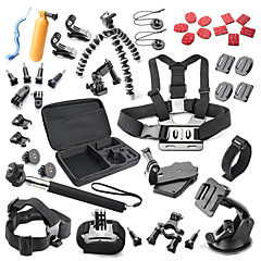 Defary Accessoires Kit For Xiaomi Camera Gopro Hero 5/4/3/3+/2/1 Sports DV Rollei action came 420 Garmin Virb X MEE +3 MEE +2 SJCAM