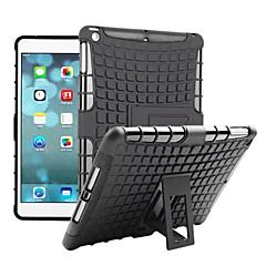 TPU + PC hybride stevige rubberen bekleding staan harde kaft gevallen voor iPad lucht