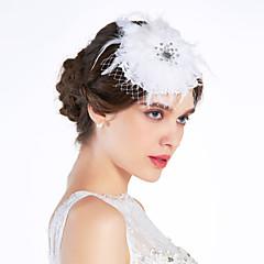 Femme Dentelle / Tulle Casque-Mariage / Occasion spéciale Coiffure / Fleurs Clair Irrégulier