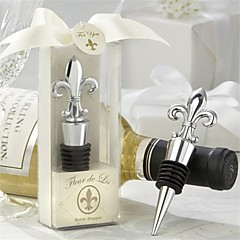 Bottle Favor 1Stück / Set Flaschenverschluss Asiatisches  Thema / Klassisches Thema Nicht-individualisiert Zinn Silber