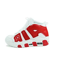 女性 / 男性 ウォーキング 靴 レザーレット ブラック / ブルー / レッド / ホワイト