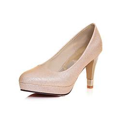 בלרינה\עקבים - נשים / לבנות - נעלי חתונה - עקבים - חתונה / משרד ועבודה / שמלה / מסיבה וערב - ירוק / אדום / כסוף / זהב