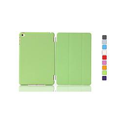 jednobarevná auto spánek / probudit pu skládací Pouzdro pro iPad Mini 3/2/1