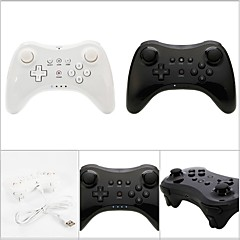 בקרים ל Vaalea purppura Nintendo Wii U נטענת ידית משחק Bluetooth